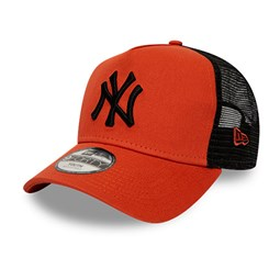 New York Yankees League Essential A-Frame Trucker arancione bambino