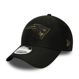 Cappellino 9FORTY Stretch Snap New England Patriots nero tono su tono