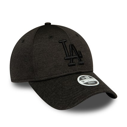 Los Angeles Dodgers Womens Tonal Black 9FORTY Cap