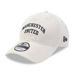 Gorra Manchester United Side Patch 9TWENTY, blanco