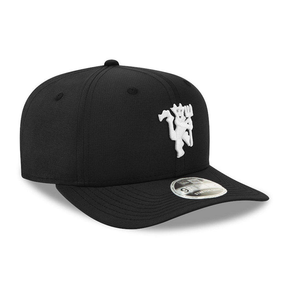 Casquette 9FIFTY Ripstop Manchester United, noir