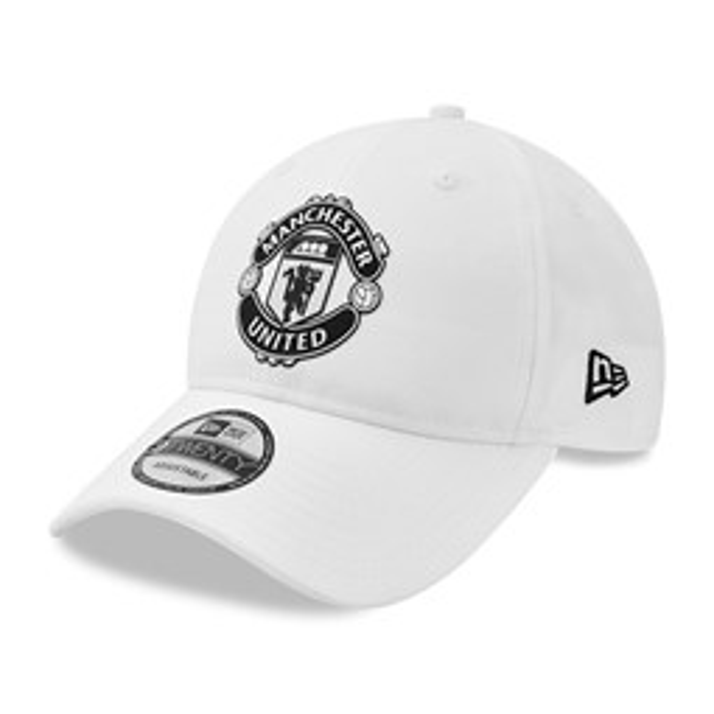 9TWENTY – Manchester United – Ripstop-Kappe in Weiß