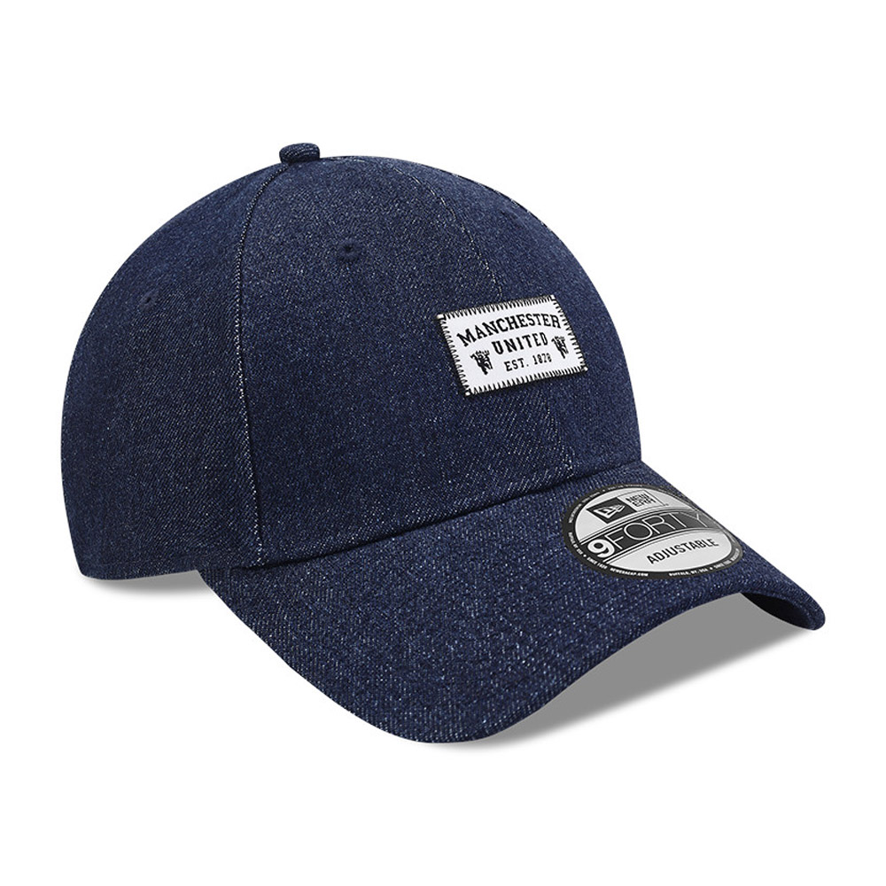 Cappellino 9FORTY Denim Patch Manchester United