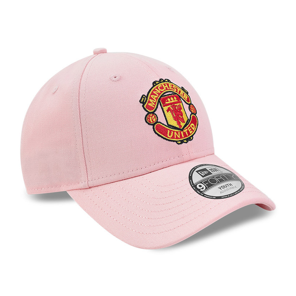Gorra Manchester United Cotton 9FORTY rosa
