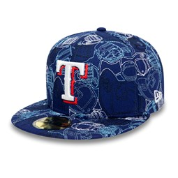 Cappellino Texas Rangers 100 Year Cap Chaos 59FIFTY