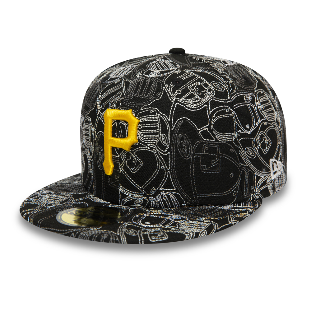 Cappellino 59FIFTY 100 Year Cap Chaos dei Pittsburgh Pirates