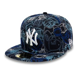 Casquette 59FIFTY 100 ans Cap Chaos des New York Yankees