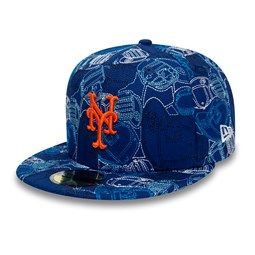 Cappellino 59FIFTY 100 Year Cap Chaos dei New York Mets