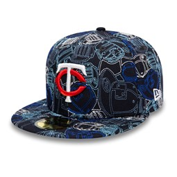 Minnesota Twins 100 Year Cap Chaos 59FIFTY Cap