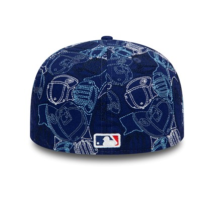 Los Angeles Dodgers 100 Year Cap Chaos 59FIFTY Cap