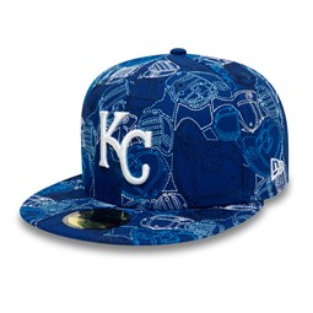 Gorra Kansas City Royals 100 Year Cap Chaos 59FIFTY