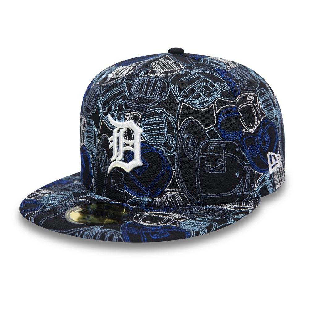 Cappellino 59FIFTY 100 Year Cap Chaos dei Detroit Tigers