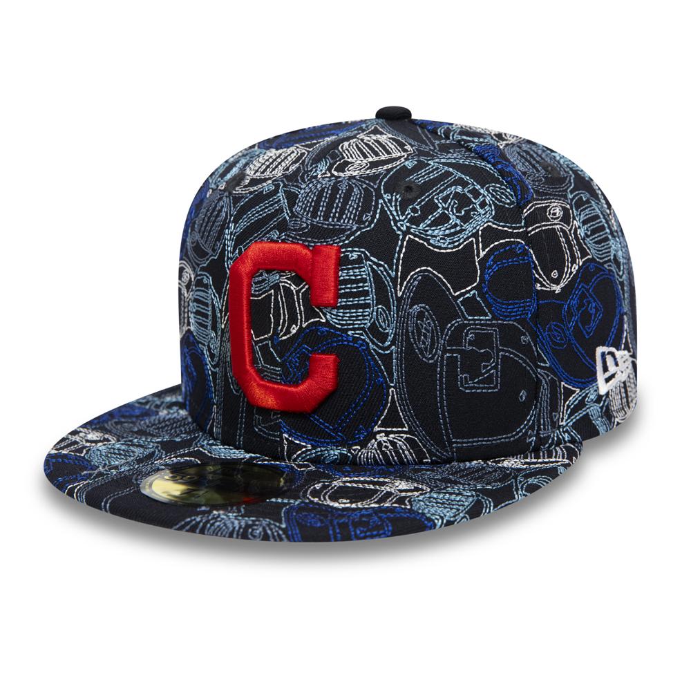 Casquette 59FIFTY 100 ans Cap Chaos des Cleveland Indians