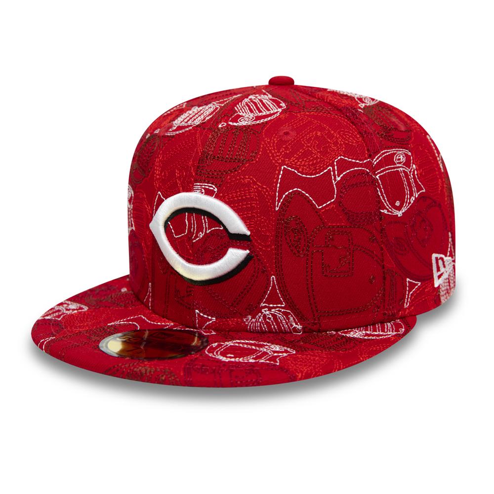 Gorra Cincinnati Reds 100 Year Cap Chaos 59FIFTY