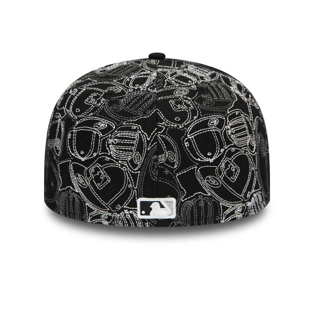 Cappellino 59FIFTY 100 Year Cap Chaos dei Chicago White Sox