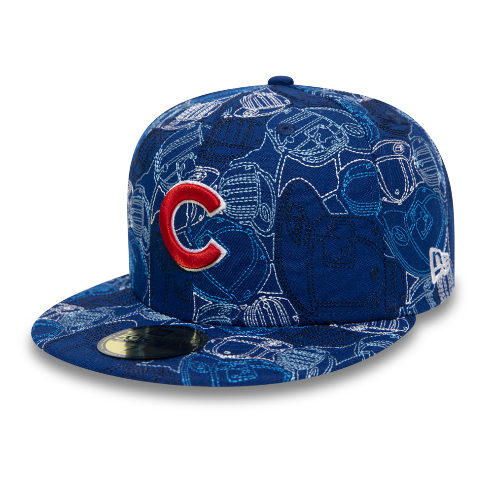 Cappellino 59FIFTY 100 Year Cap Chaos dei Chicago Cubs