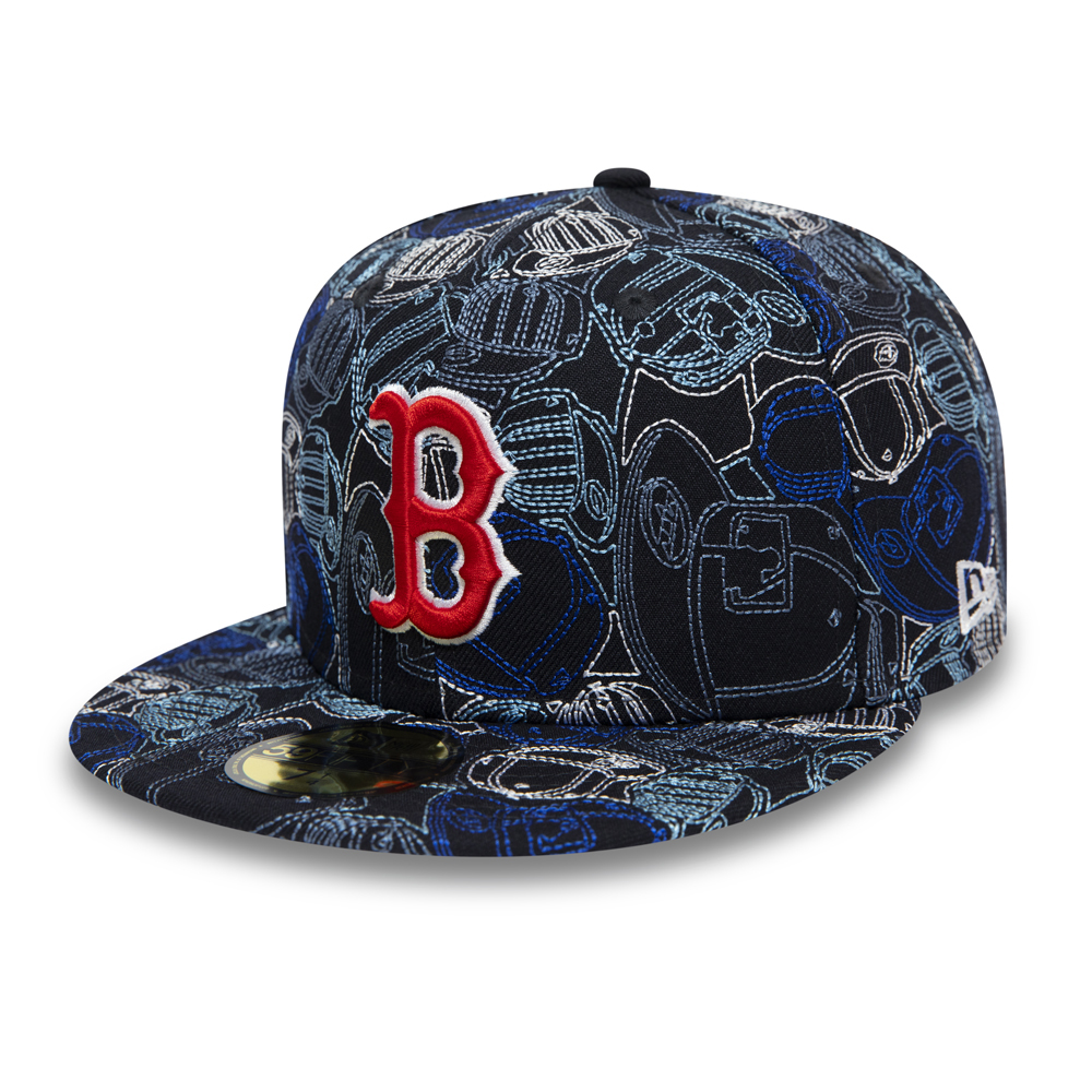 Cappellino 59FIFTY 100 Year Cap Chaos dei Boston Red Sox