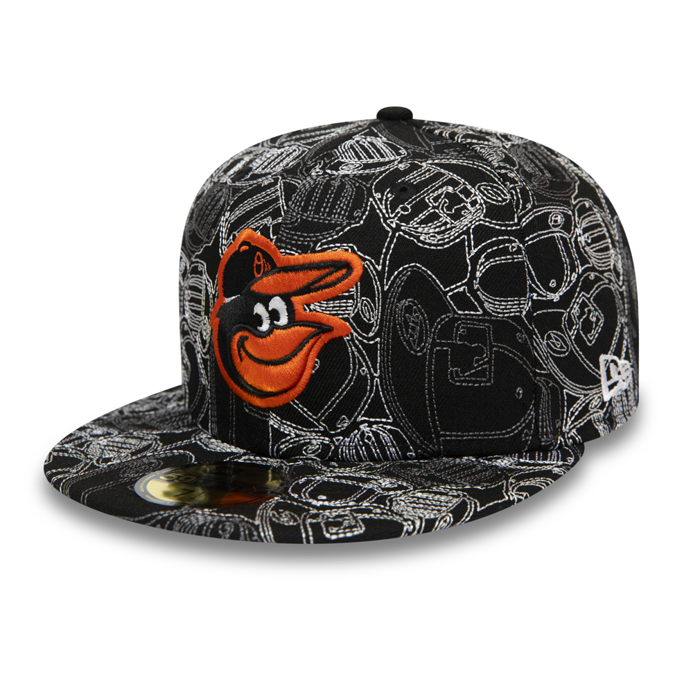 Cappellino Baltimore Orioles 100 Year Cap Chaos 59FIFTY