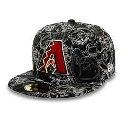 Cappellino 59FIFTY 100 Year Cap Chaos degli Arizona Diamondbacks