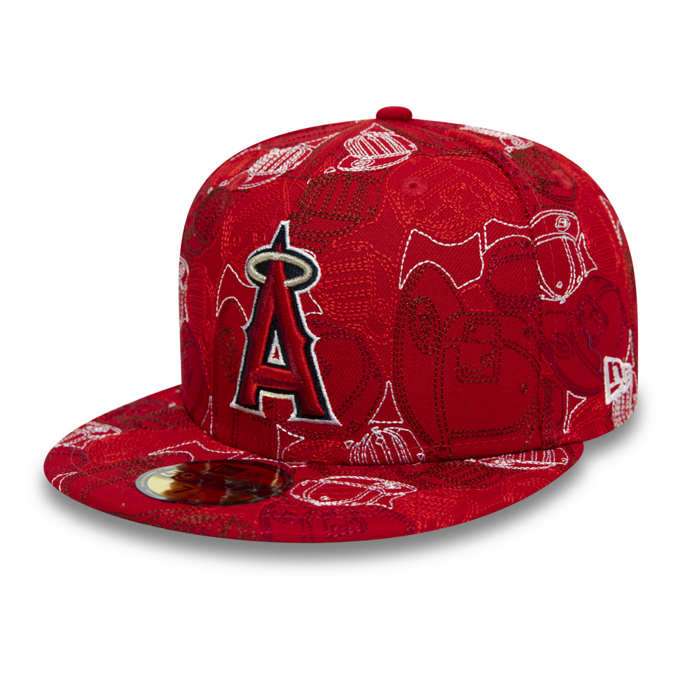 Cappellino 59FIFTY 100 Year Cap Chaos degli Anaheim Angels
