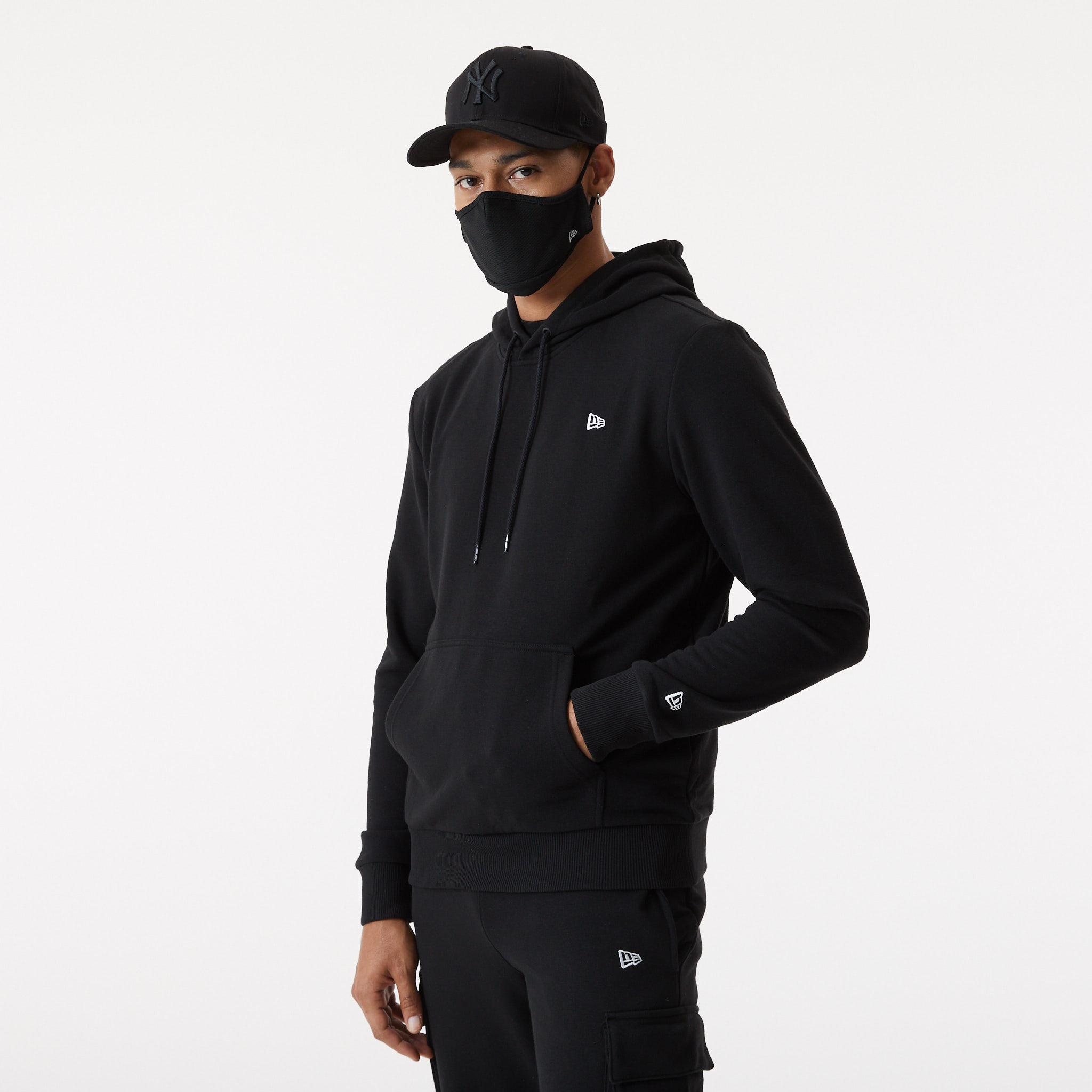 New Era – Gesichtsmaske in Schwarz
