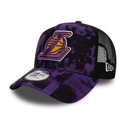Los Angeles Lakers Error Print A-Frame Trucker
