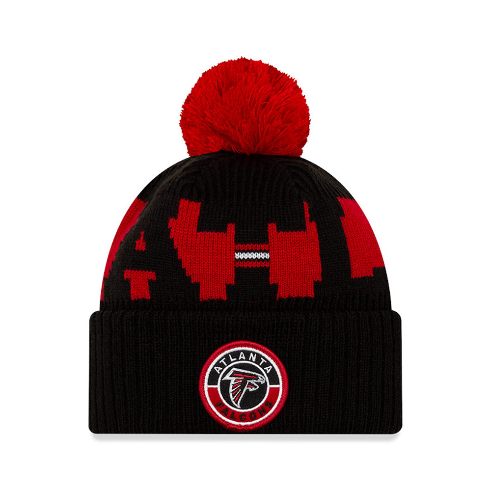 Gorro de punto Atlanta Falcons On Field, niño, negro