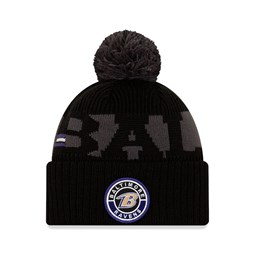 Baltimore Ravens On Field Kids Black Knit