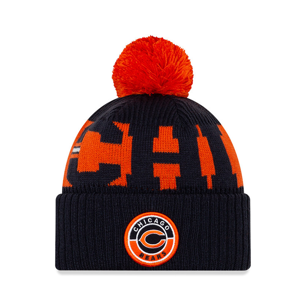 Chicago Bears On Field Kids Navy Knit