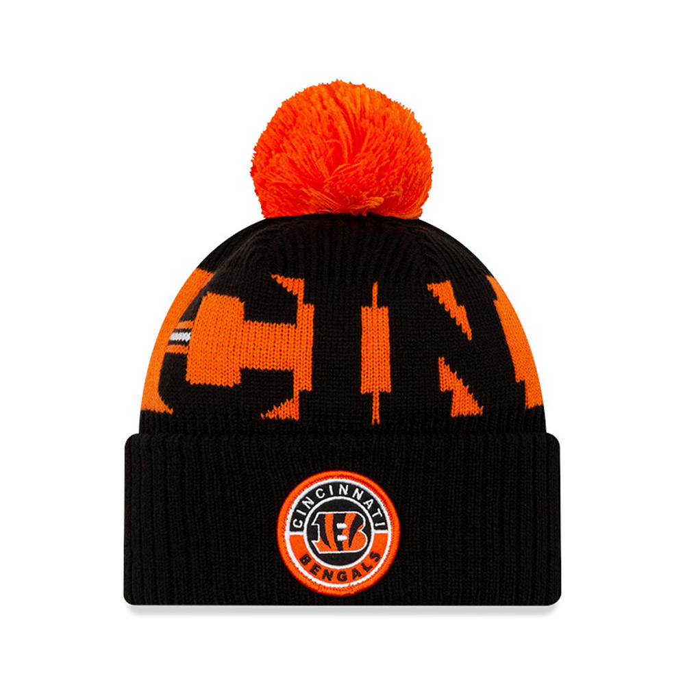 Cincinnati Bengals On Field Kids Black Knit