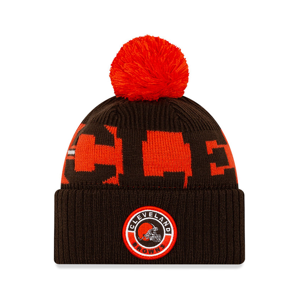 Cleveland Browns On Field Kids Brown Knit