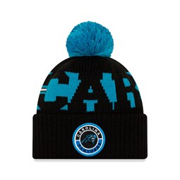 Gorro de punto Carolina Panthers On Field, niño, negro