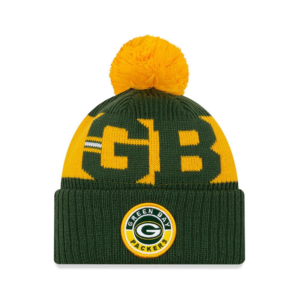 Green Bay Packers On Field Kids Green Knit