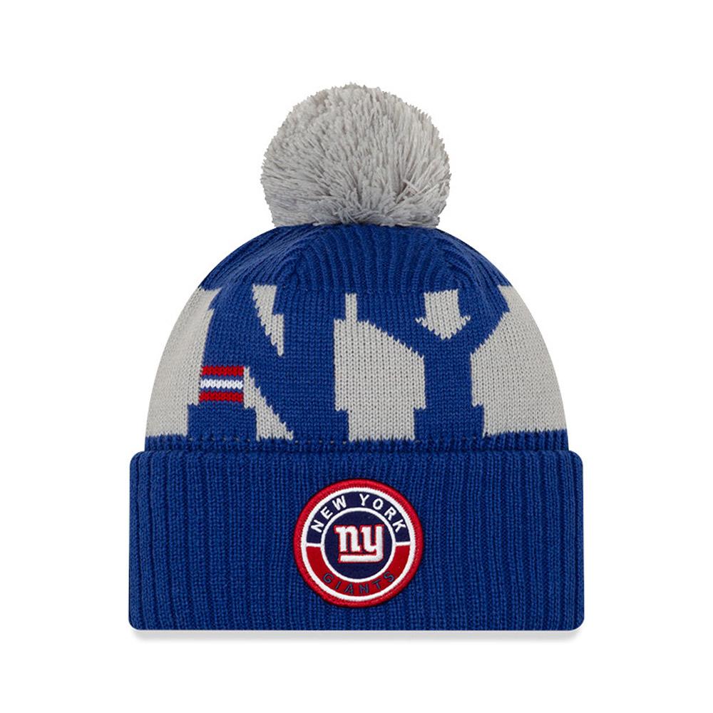 New York Giants On Field Kids Blue Knit