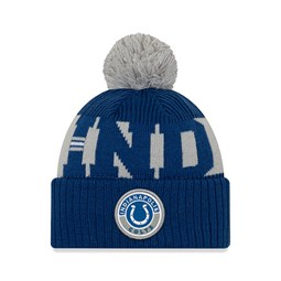 Indianapolis Colts On Field Kids Blue Knit