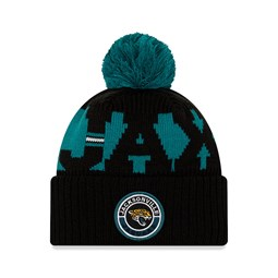 Jacksonville Jaguars – On Field – Kinder-Beanie in Schwarz