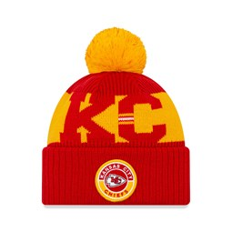 Kansas City Chiefs On Field Kids Red Knit
