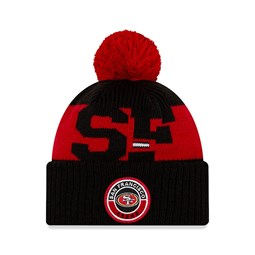 San Francisco 49ers On Field Kids Black Knit