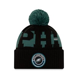Philadelphia Eagles On Field Kids Black Knit