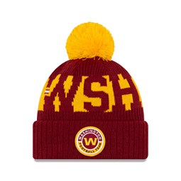 Gorro de punto Washington On Field, niños, granate