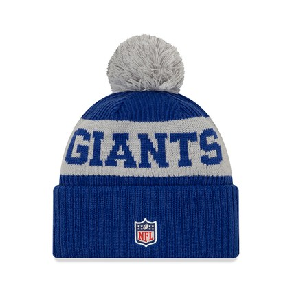 New York Giants On Field Blue Knit