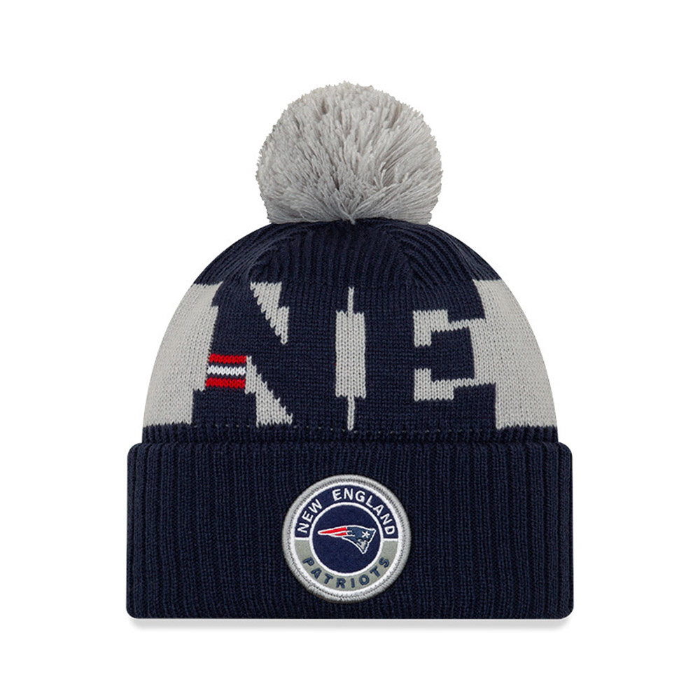 New England Patriots – On Field – Beanie in Marineblau