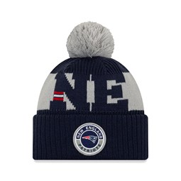 Bonnet On Field des New England Patriots, bleu marine