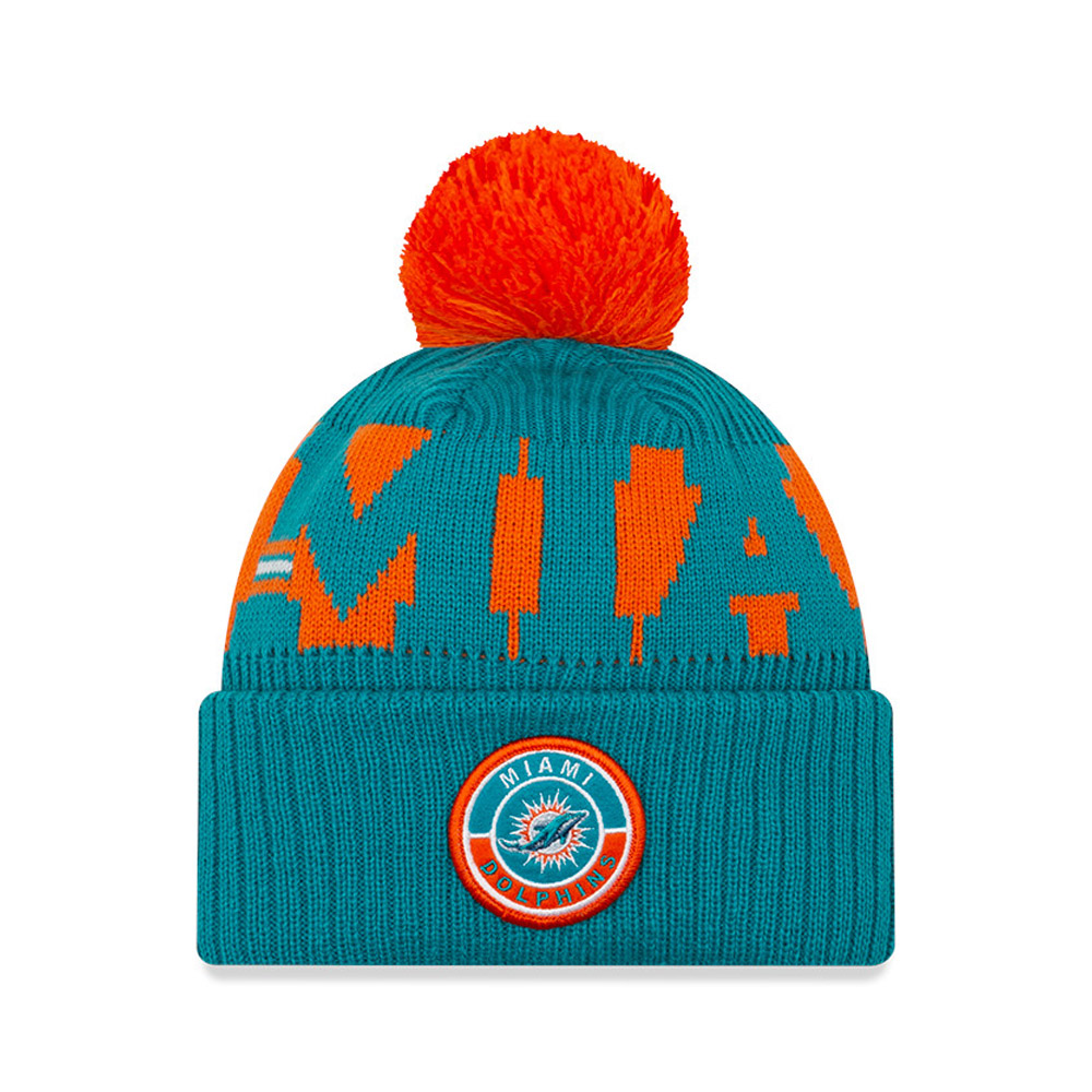 Miami Dolphins On Field Blue Knit