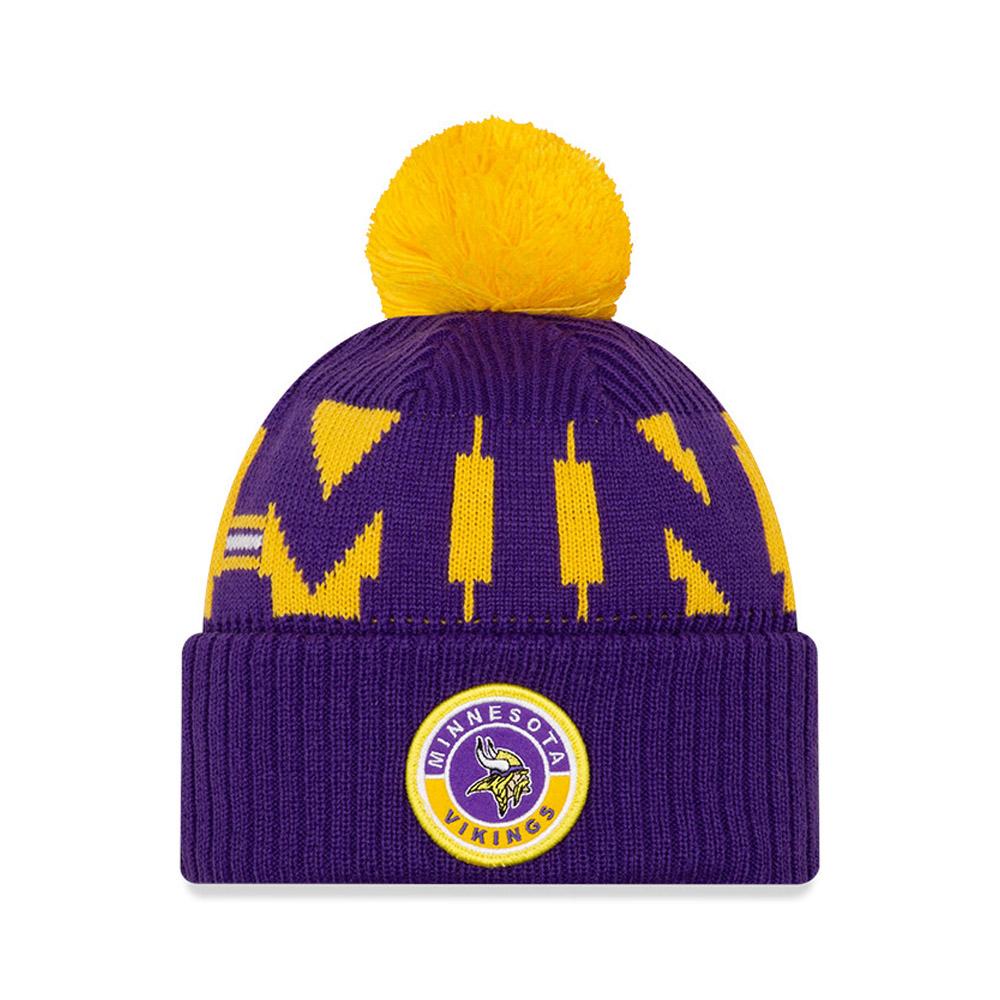 Minnesota Vikings On Field Purple Knit