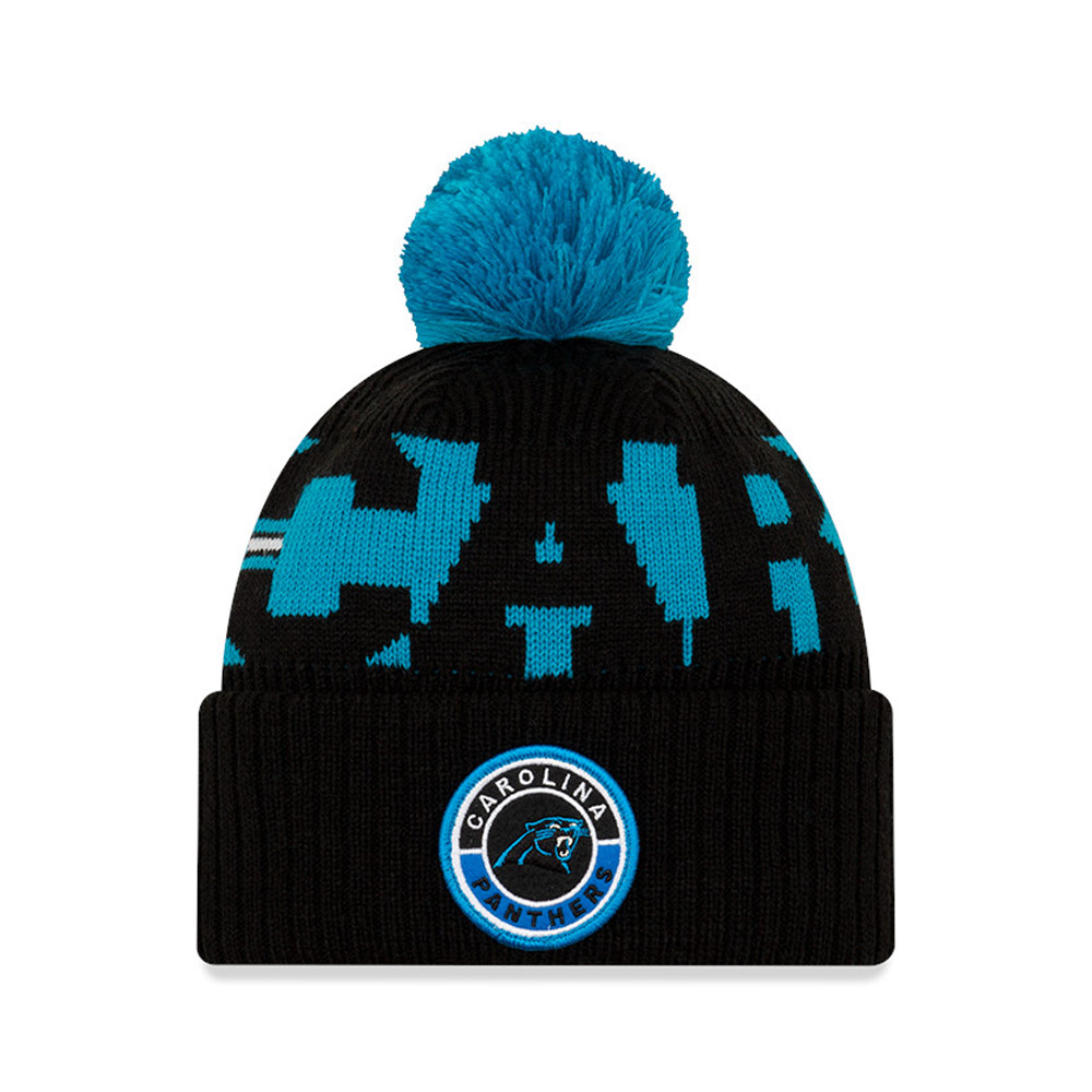 Carolina Panthers On Field Black Knit