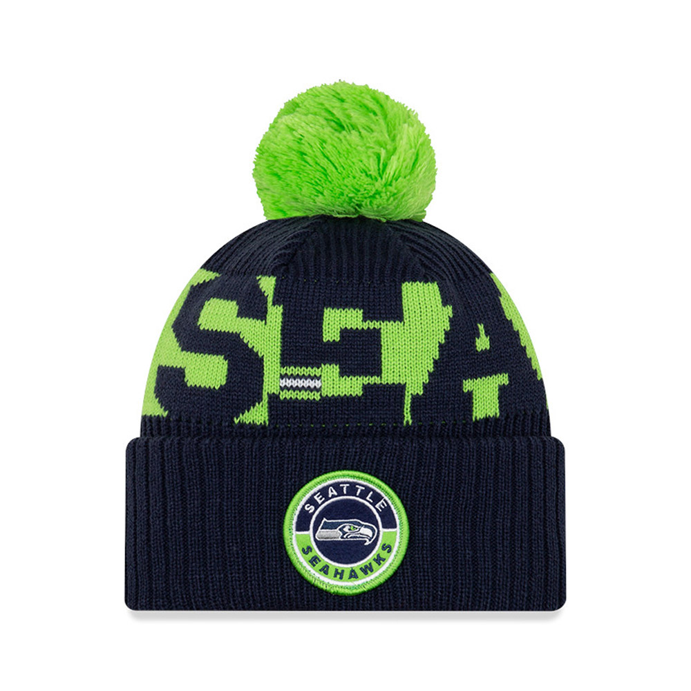 Gorro de punto Seattle Seahawks On Field, azul marino