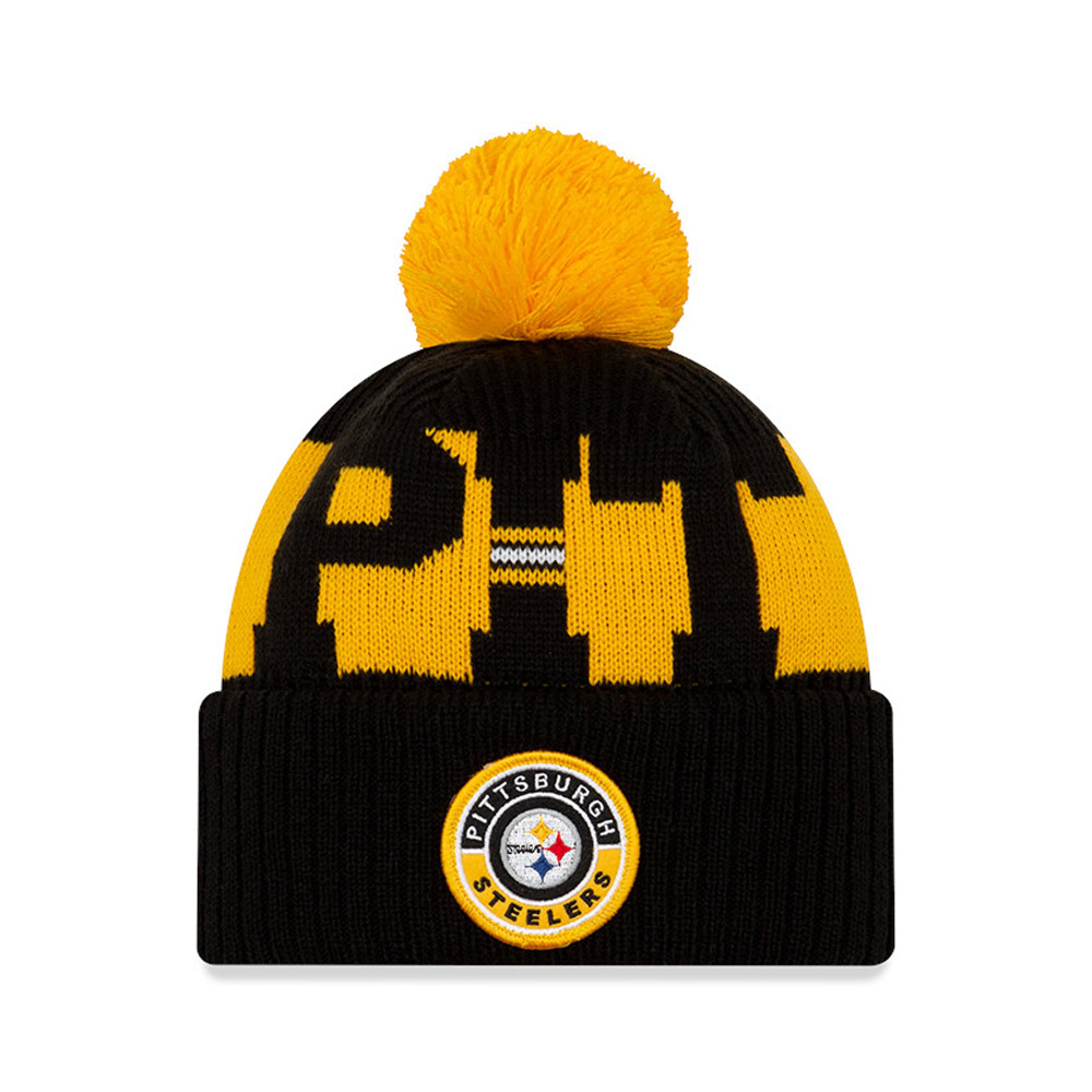 Pittsburgh Steelers On Field Black Knit