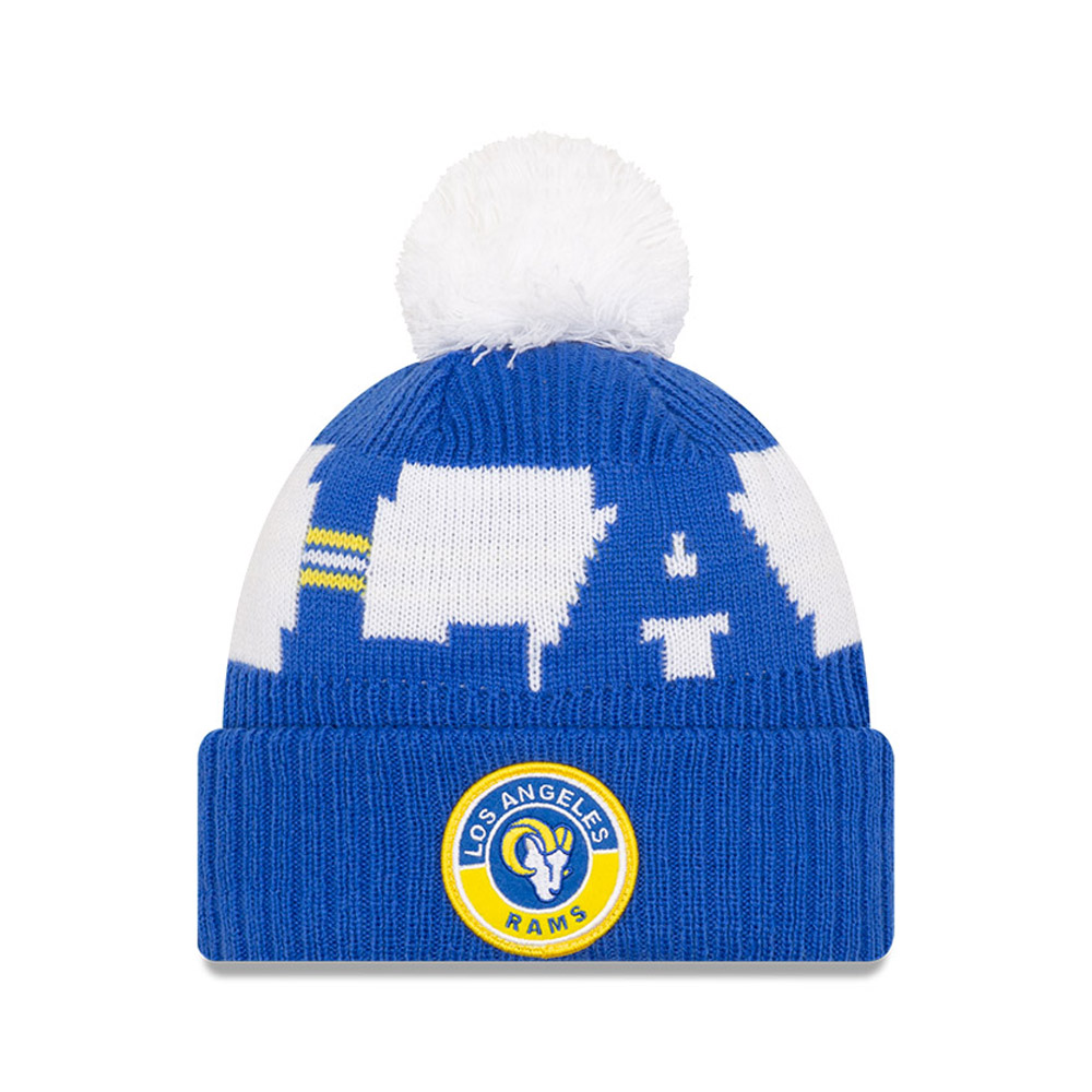 Los Angeles Rams – On Field – Beanie in Blau