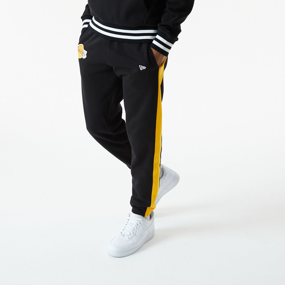 Pantaloni jogger LA Lakers NBA Logo neri